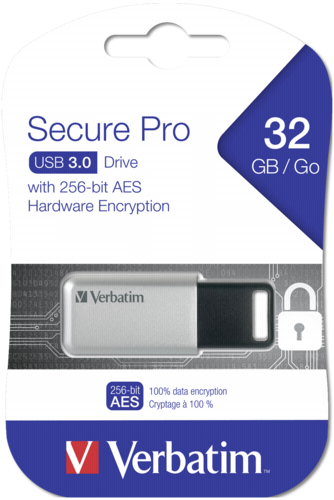 Verbatim Secure Data Pro 32GB USB 3.0