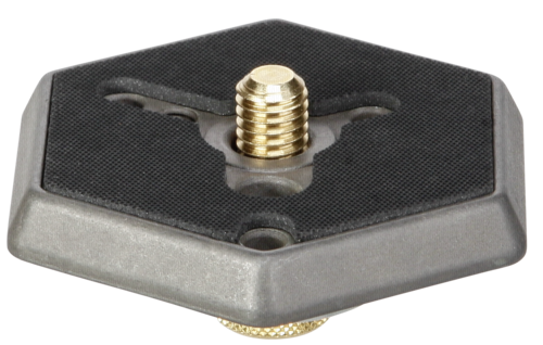 Manfrotto 030-38 Hexagonal Quick Release Plate with 3/8 Screw