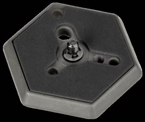 Manfrotto Hexagonal Adapter Plate Normal 1/4 Screw