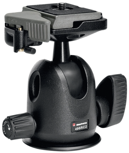 Manfrotto 496RC2 Compact Ball Head with 200PL Plate