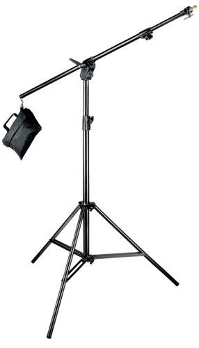 Manfrotto Black Aluminium Combi Boom Stand with Sandbag 420B