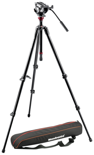 Manfrotto 755XB Tripod with MVH500AH Fluid Head