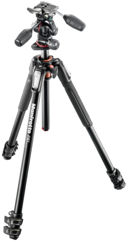 Manfrotto MK190XPRO3-3W Aluminum Tripod with 3Way Panhead