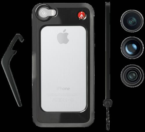 Manfrotto KLYP + Set 2 Case + lenses