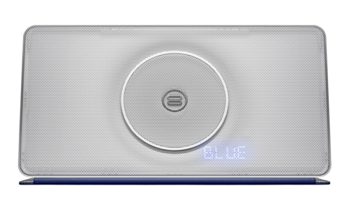 Bayan Audio Soundbook X3 Wireless Speaker Silver