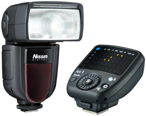 Nissin Di 700A Flash Kit with Air 1 Commander for Nikon