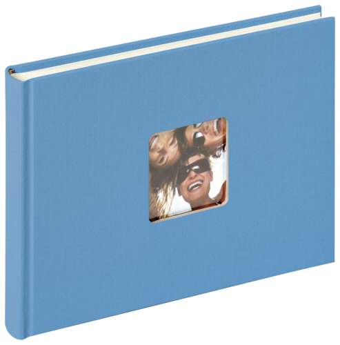 Walther Fun 22x16 Bookbound 40 Pages ocean blue