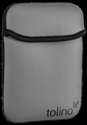 Tolino Shine/Vision Neoprene Bag black/grey