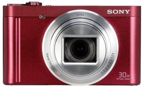 Sony DSC-WX 500 Red