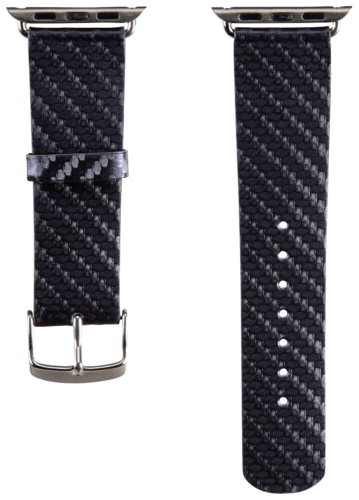 Hama Watchband Carbon for Apple Watch 38mm blue