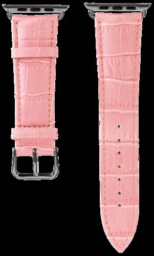 Hama Watchband Croco for Apple Watch 38mm pink