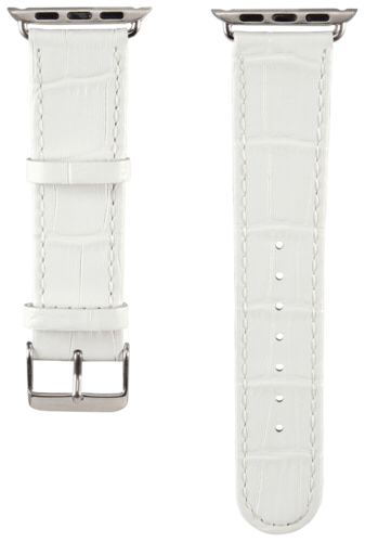 Hama Watchband Croco for Apple Watch 38mm white