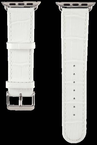 Hama Watchband Croco for Apple Watch 38mm white