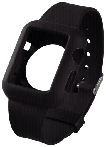 Hama Watchband Silicone for Apple Watch 38mm black
