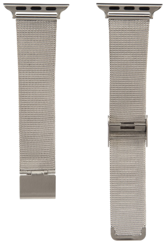 Hama Watchband Milanaise for Apple Watch 38mm silver