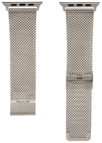 Hama Watchband Milanaise for Apple Watch 42mm silver