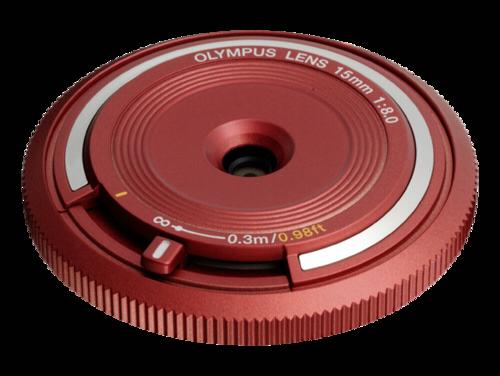 Olympus BCL-1580 Body Cap Lens Red