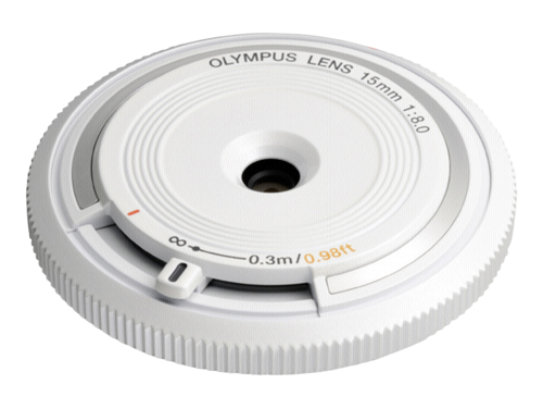 Olympus BCL-1580 Body Cap Lens White