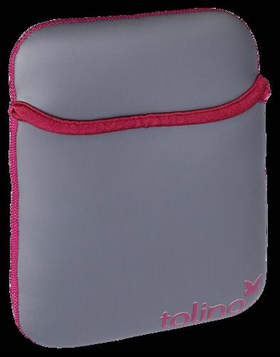 Tolino Shine/Vision Neoprene Bag grey/red