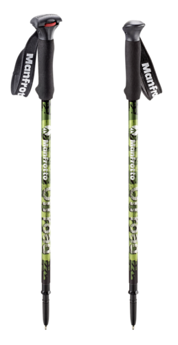 Manfrotto Off Road Aluminum Walking Sticks Green