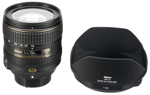 Nikon AF-S 16-80mm f/2.8-4E ED VR