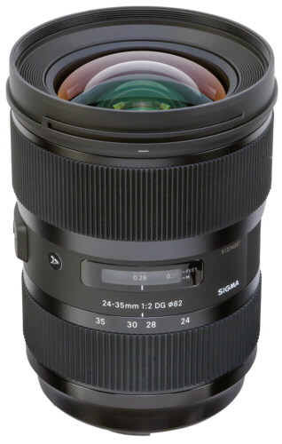 Sigma 24-35mm f/2 DG HSM Art Nikon