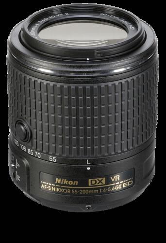 Nikon AF-S 55-200mm f/4-5.6G DX ED VR II