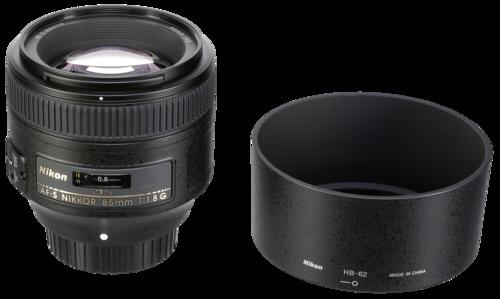 Nikon AF-S 85mm f/1.8G