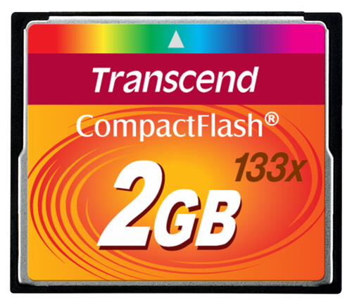 Transcend Compact Flash 2GB MLC 133x