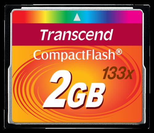 Transcend Compact Flash 2GB MLC 133x