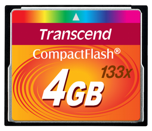 Transcend Compact Flash 4GB MLC 133x