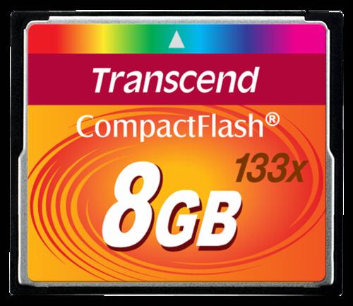 Transcend Compact Flash 8GB MLC 133x
