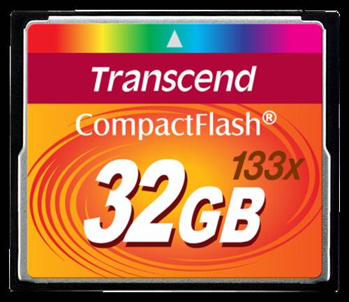 Transcend Compact Flash 32GB MLC 133x