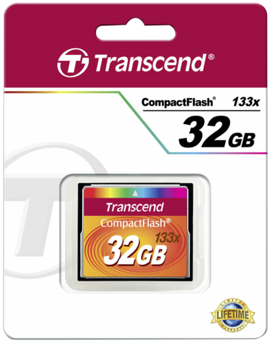 Transcend Compact Flash     32GB