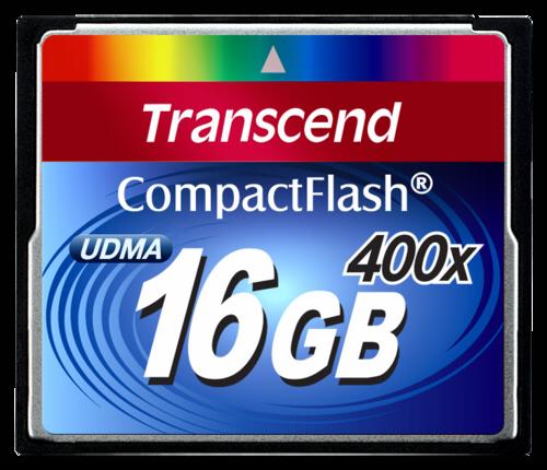Transcend Compact Flash 16GB MLC 400x