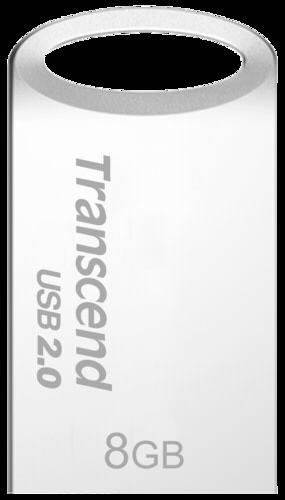 Transcend JetFlash 510 USB 2.0 8GB Silver Plating