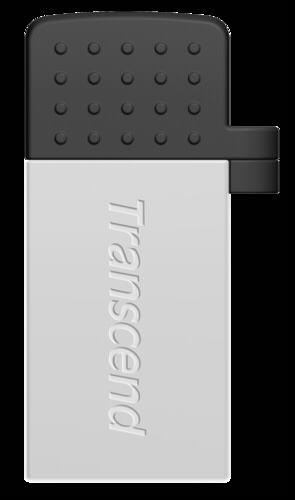 Transcend JetFlash 380 OTG 8GB micro USB + USB 2.0 Silver