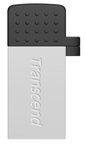 Transcend JetFlash 380 OTG 16GB micro USB + USB 2.0 Silver