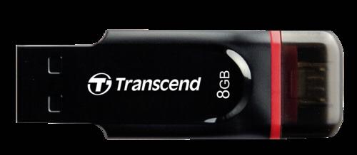 Transcend JetFlash 340 OTG 8GB microUSB + USB 2.0