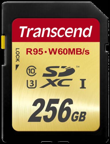 Transcend SDXC 256GB Class 10 UHS-I U3 Ultimate X
