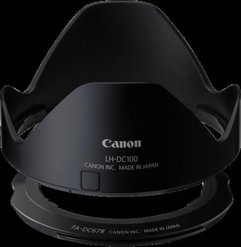 Canon LH-DC100 Lens Hood + FA-DC67B Lens Adapter