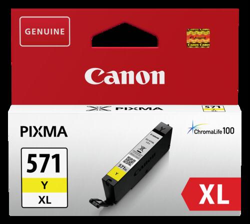 Canon CLI-571 Y Yellow XL