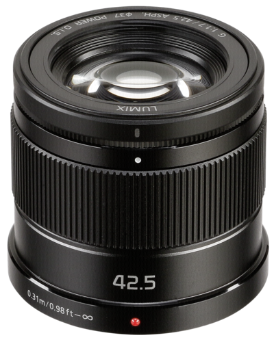 Panasonic Lumix G 42.5mm f/1.7 Power OIS