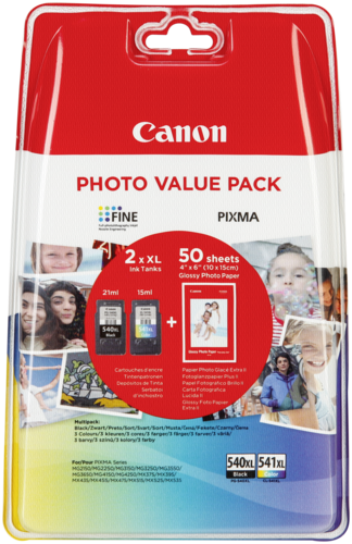 Canon PG-540/CL-541 XL Photo Value Pack (GP-501 10x15cm)