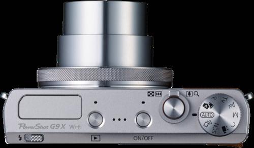 Canon PowerShot G9X silber