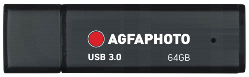 AgfaPhoto 64GB USB 3.0 Black