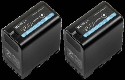 Sony BP-U60 Battery Pack (2 pcs)