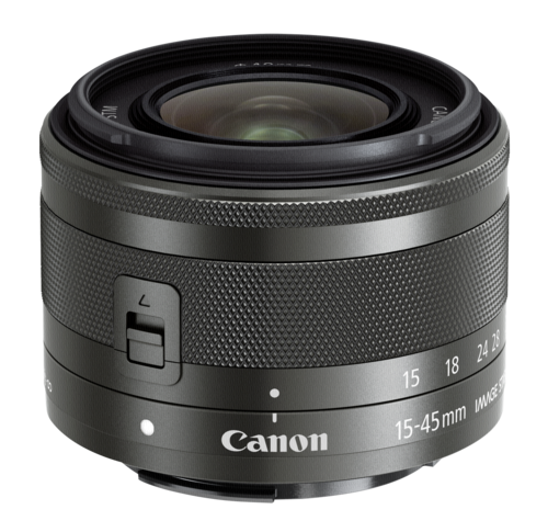 Canon EF-M 15-45mm f/3.5-6.3 IS STM Black (Bulk)