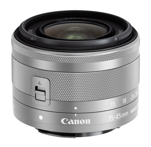 Canon EF-M 15-45mm f/3.5-6.3 IS STM Silver