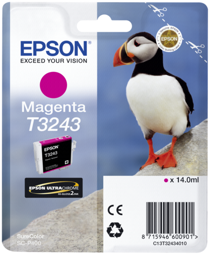 Epson Cartridge T3243 Magenta